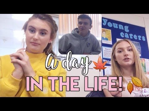 Vlogging At Sixth Form?! | A Day In The Life