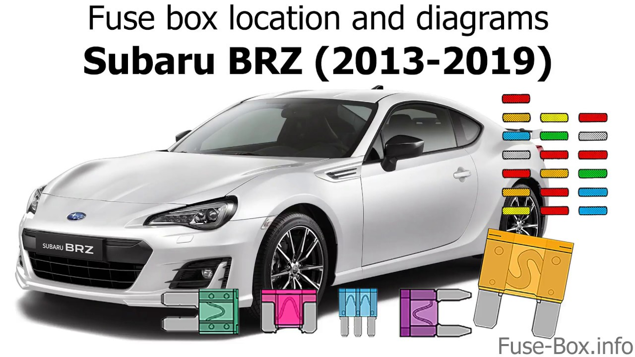 medium resolution of fuse box location and diagrams subaru brz 2013 2019 youtube 2013 subaru impreza wiring diagram 2013 subaru brz fuse diagram