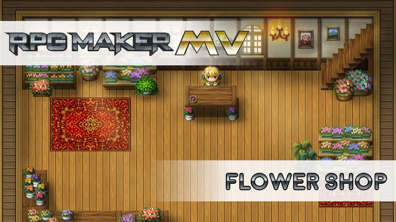 RPG MAKER MV SPEEDMAPPING: Flower Shop!