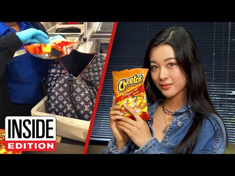 Kristina Kage - Why Is This Woman Carrying So Many Bags of Cheetos?