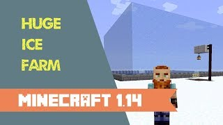Minecraft 1.14+ | Huge Ice Farm Tutorial