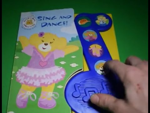 BUILD-A-BEAR SING AND DANCE PLAY-A-SONG LITTLE SONG NOTE SOUND BOOK ELECTRONIC BUTTON STORY KIDS