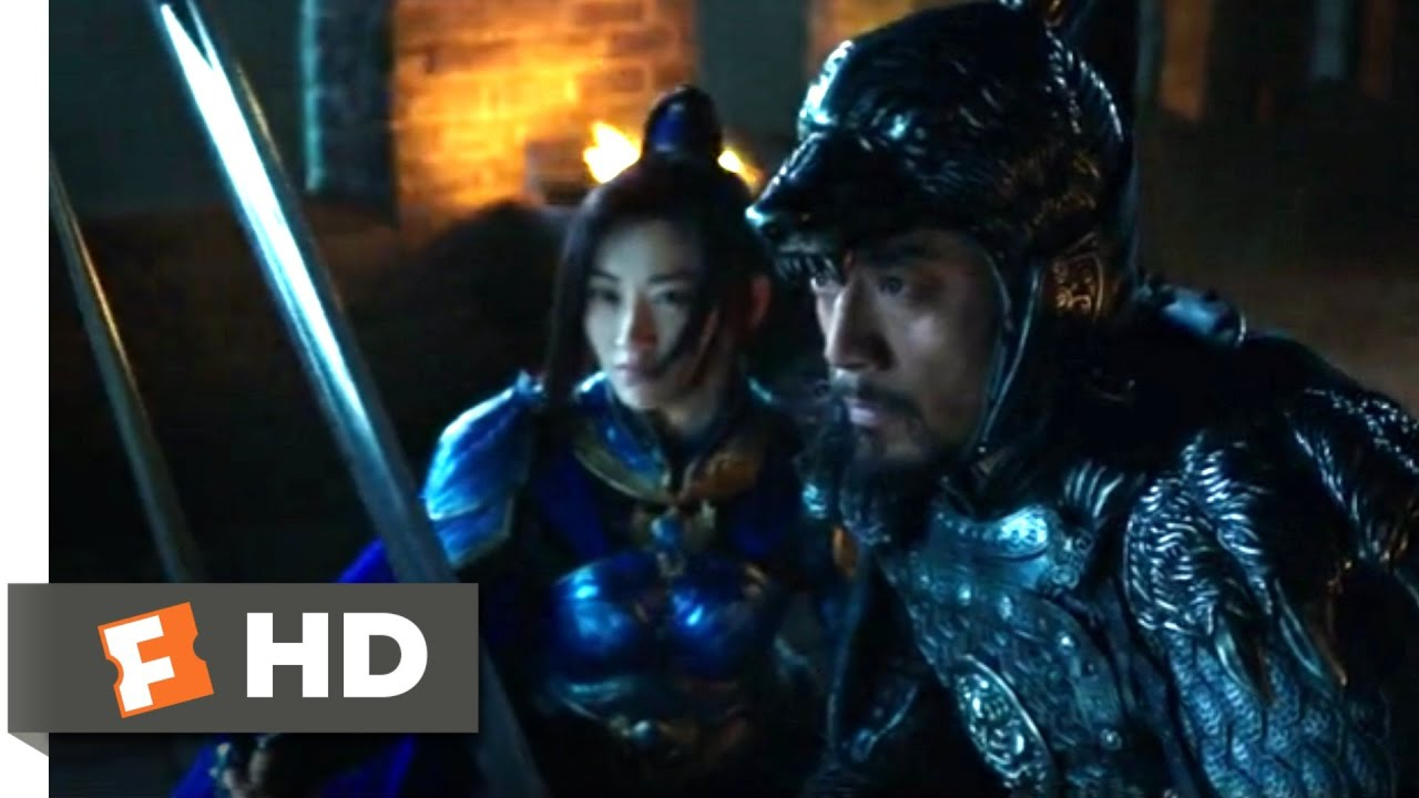 Download The Great Wall (2017) - Nighttime Trap Scene (5/10) | Movieclips