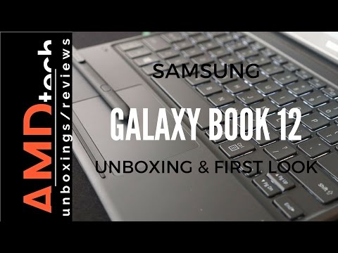 Samsung Galaxy Book with LTE:  Unboxing & First Impressions