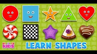 Learn Shapes For Children | Free App from EduBuzzKids for Android