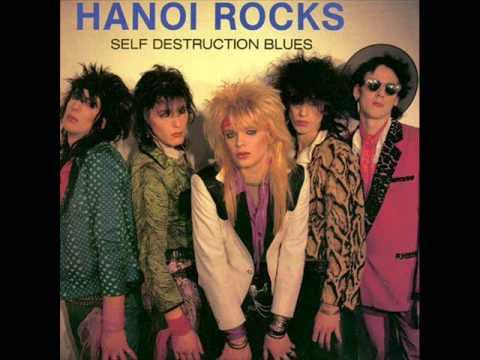 Hanoi Rocks - Self Destruction Blues