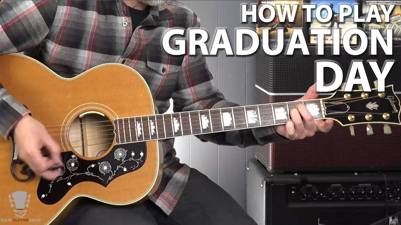 how to play your graduation on guitar