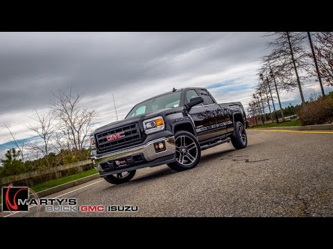 2015 GMC Sierra Carbon 22 Edition - Marty's Buick GMC - YouTube
