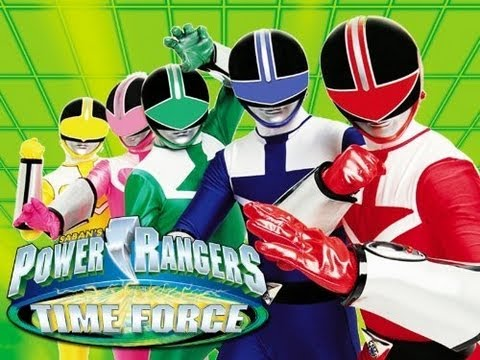 POWER RANGERS TIME FORCE INTRO HDTV