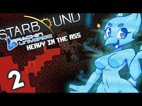 MODDED] Starbound (Frackin Universe) Part 2: Heavy in the