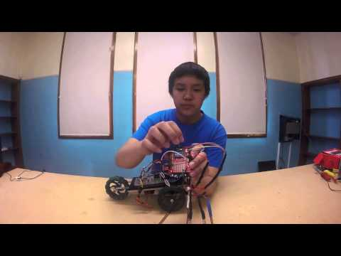 Matthew W - Gesture-Controlled Robot Milestone 2 (Main Project)