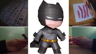 PAPERCRAFT #8 - Batman - DC Comics (Stop Motion)