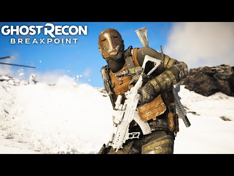 THE HARDEST HITTING ASSAULT RIFLE In Ghost Recon Breakpoint Free Roam