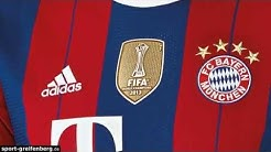 FC Bayern Trikot 2014/2015 Home - Club WM Badge