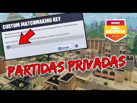 Partidas Personalizadas Con Codigo Server Brazil Fortnite