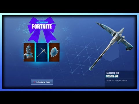 NEW 'FROZEN RED KNIGHT SET' IN FORTNITE
