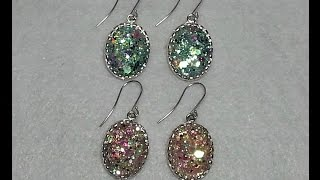 DIY~Stunningly Beautiful & Elegant Earrings For The Holidays! Easy & Inexpensive!