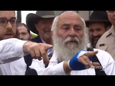 San Diego Synagogue Shooting: Rabbi Yisroel Goldstein speaks about shooting, mourns Lori Kaye