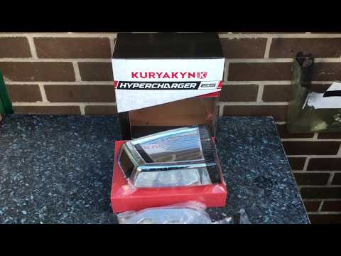 Kuryakyn 9377 hypercharger ES Harley Softail M8 air filter upgrade works & looks Custom Cruisers UK