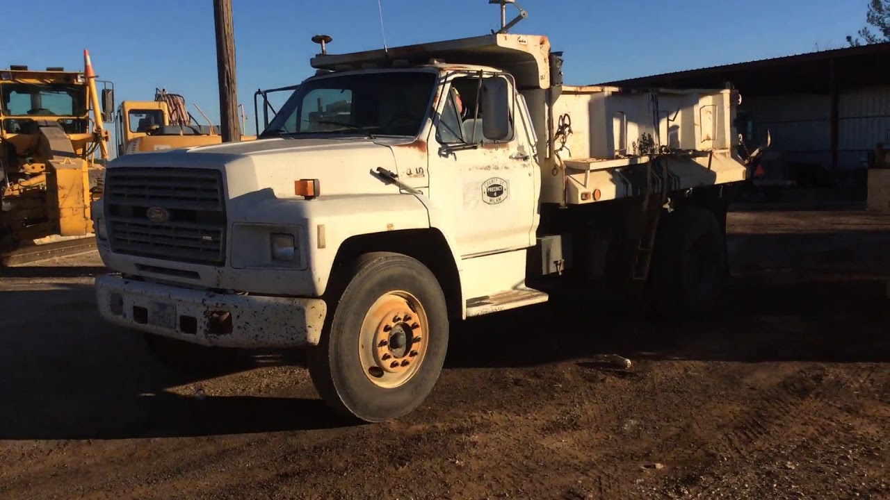 Best 1989 Ford F-700 Rollback Tow Truck for sale in Winkler ...