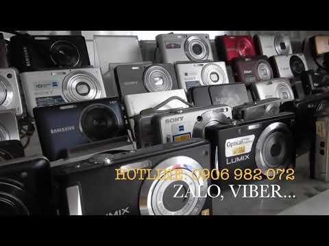 Thanh Lý 100 Máy ảnh Compact Giá Từ 300k đến 1tr5.