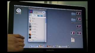 procedure of video call on octrotalk on macbook