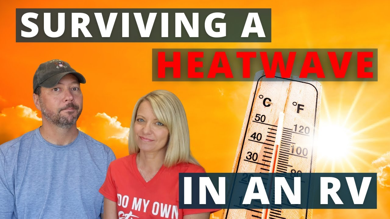 🥵  RVing in EXTREME HEAT! ☀️ (Full Time RV Life)
