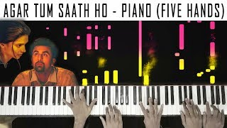 agar-tum-saath-ho---piano-cover