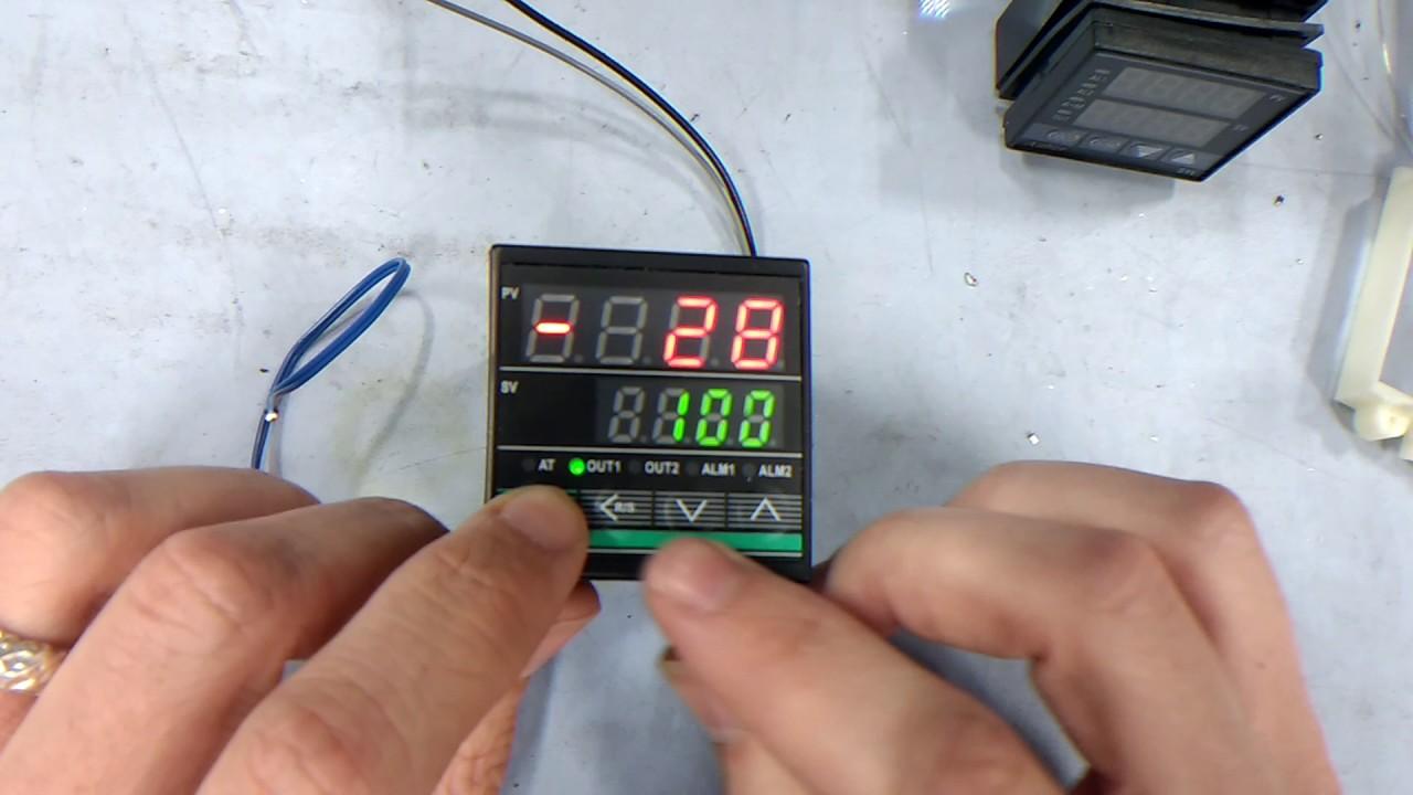 auss32 50 segment ramp soak controller with ssr output [ 1280 x 720 Pixel ]
