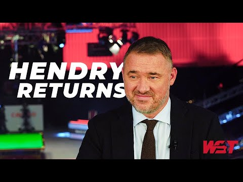 𝙃𝙚'𝙨 𝘽𝙖𝙘𝙠 | STEPHEN HENDRY Speaks Ahead Of Return At Gibraltar Open!