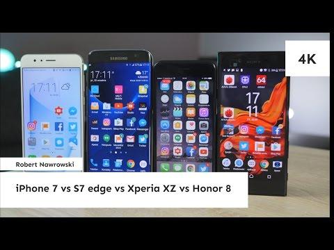 Porównanie iPhone 7,