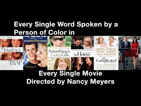 Every Single Word Spoken by a Person of Color in Every Single Movie Directed by Nancy Meyers