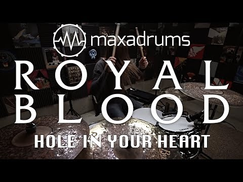 ROYAL BLOOD - HOLE IN YOUR HEART (Drum Cover)