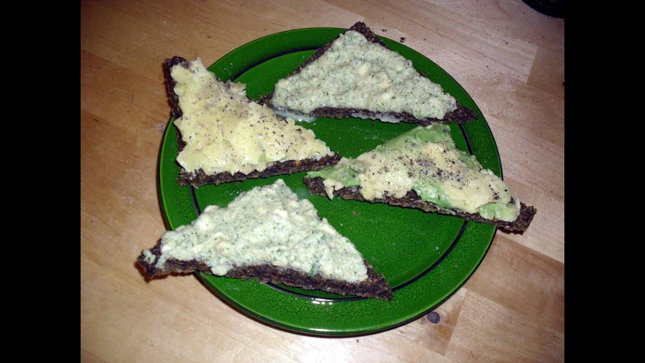 Rohveganer herzhafter Brotaufstrich selbstgemacht! (Raw vegan bread spread)