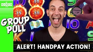 🤑 $8000 In ➡️ Handpay 💰 Group Pull @ Cosmo Las Vegas ✪ BCSlots