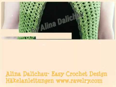 Alina Dalichau- Easy Crochet Design Weste \