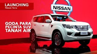 Launching Nissan Terra