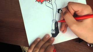 Как рисовать Оперетту из Монстр хай(2 часть)(В этом видео вы увидите как нарисовать Оперетту., 2015-09-04T11:04:01.000Z)