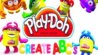 Play DOH Learning videos for kids - Learn abc for kids with play doh Letter A, B and C thumbnail