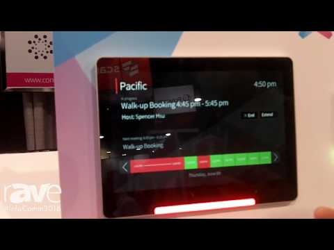 InfoComm 2016: Condeco Software Demonstrates Conference Room Screen Scheduling System