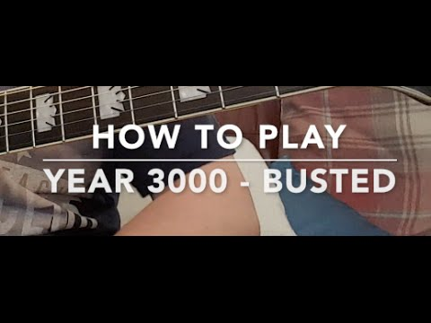 How to play Year 3000 by Busted on guitar Beginner/Advanced
