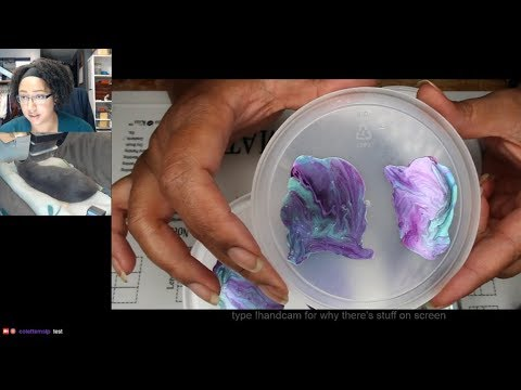 Oil Slick Decals   Extended Nail Art Tutorial [Streamed 4/25/19] thumbnail