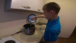 как приготовить вкусную овсяную кашу в мультиварке рецепт от Кирилла