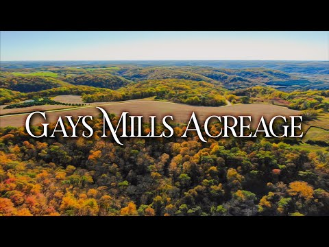 Gays Mills Acreage - Reuter Properties from YouTube · Duration:  2 minutes 13 seconds