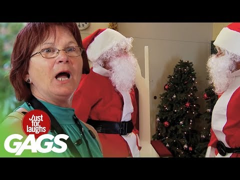 Top Funny Holiday Pranks - Best Of Just For Laughs Gags