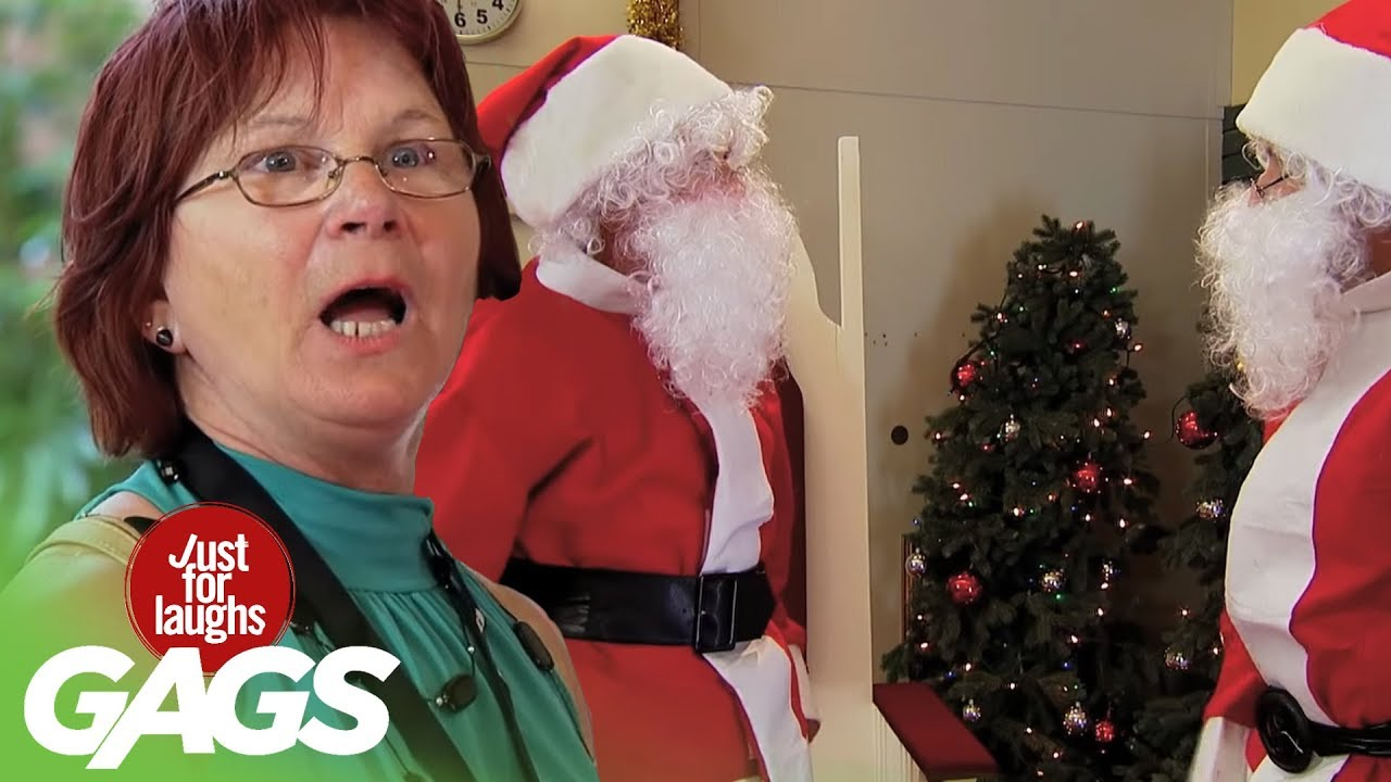 Top Funny Holiday Pranks Best Of Just For Laughs Gags