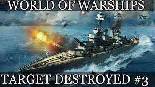 World of Warships Target destroyed #3