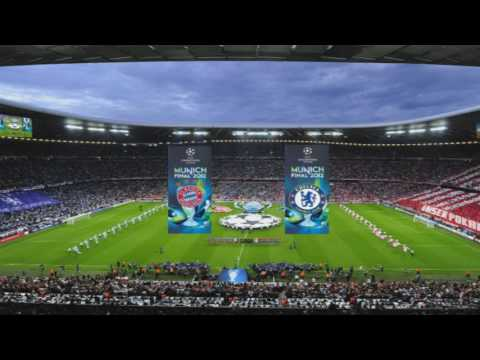 UEFA Champions League Final Anthems 2009-2016