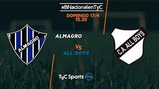 Almagro vs All Boys full match