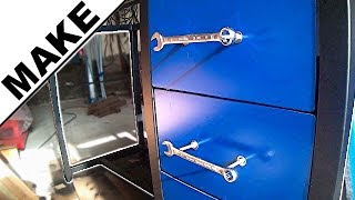 ► Fabrication de mon établi en métal